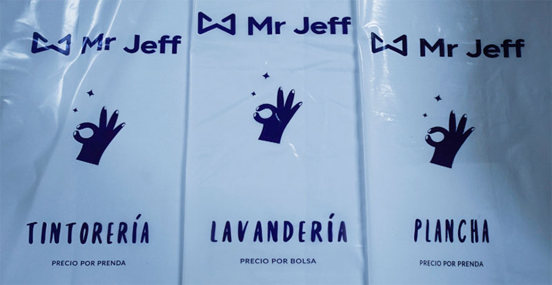 Bolsas de Mr Jeff
